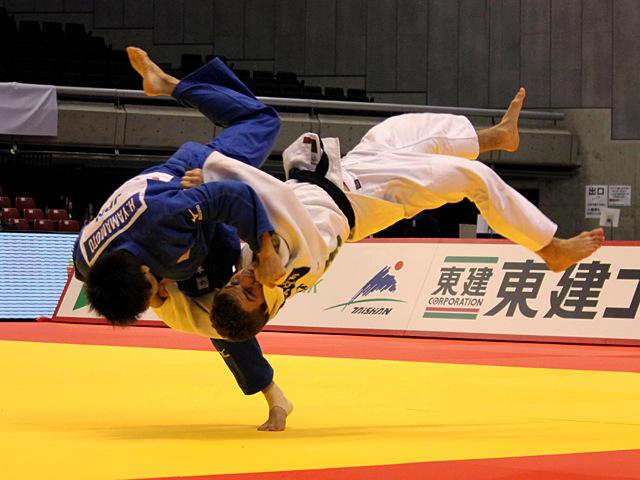 男子60kg級 敗者復活戦 山本浩史vsD.PULKRABEK