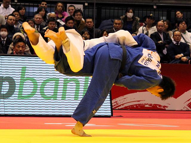 60kg級 山本浩史 vs D.PULKRABEK�A