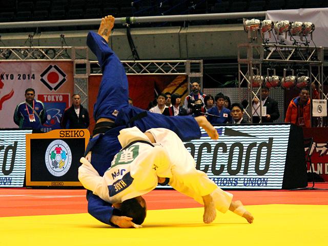 66kg級 阿部一二三 vs G.ZANTARAIA