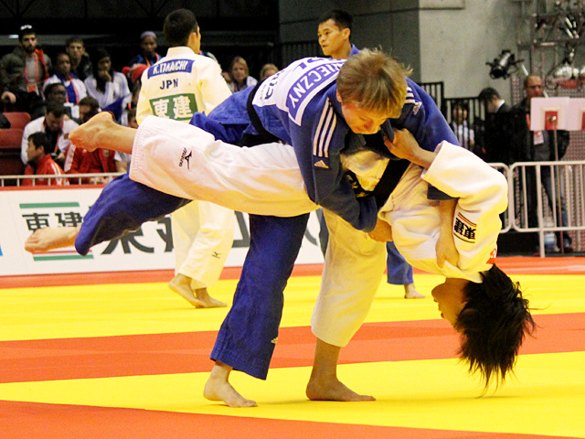 柔道グランドスラム東京2014 女子48kg級 2回戦 近藤亜美 vs E.KONIECZNY