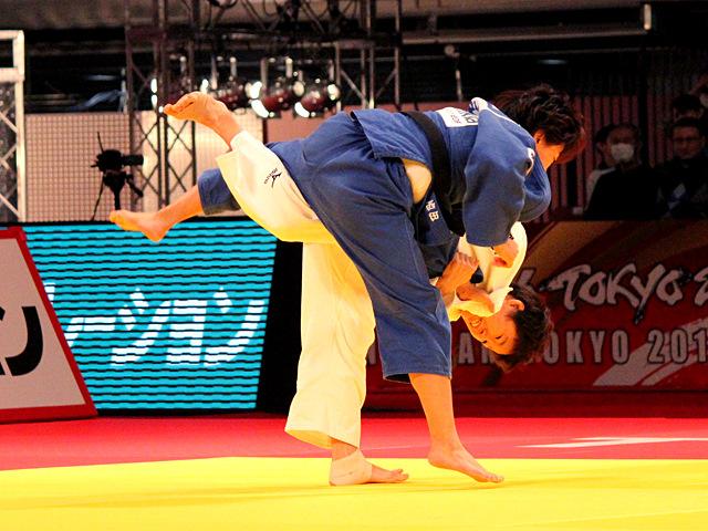 女子52kg級 決勝 橋本優貴vs西田優香