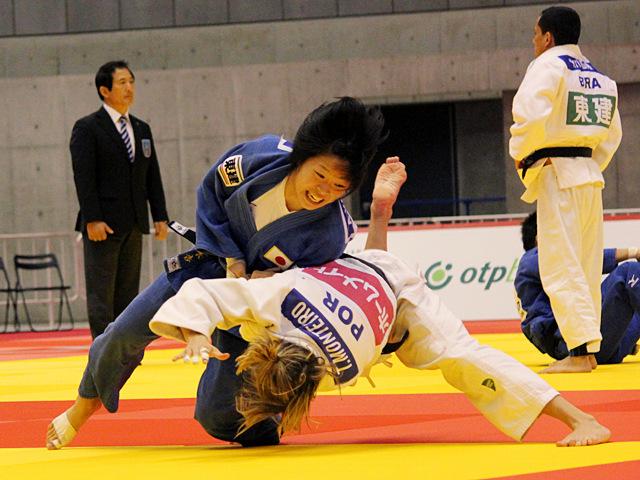 57kg級 山本杏 vs T.MONTEIRO