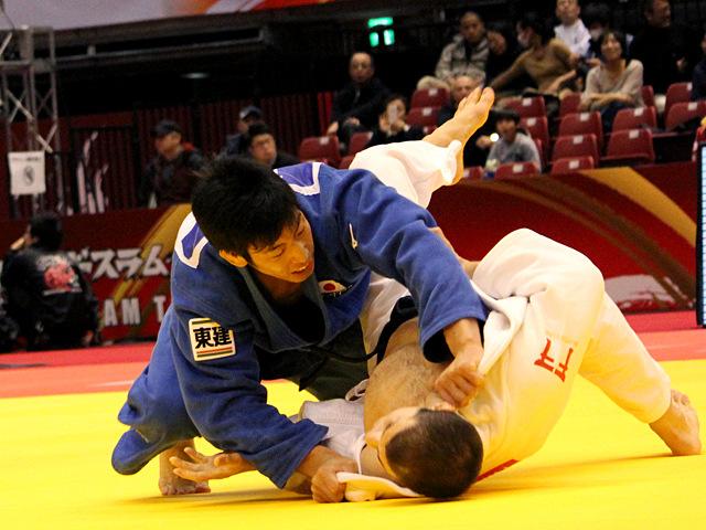 男子81kg 準決勝 永瀬貴規vsA.TCHRIKISHVILI