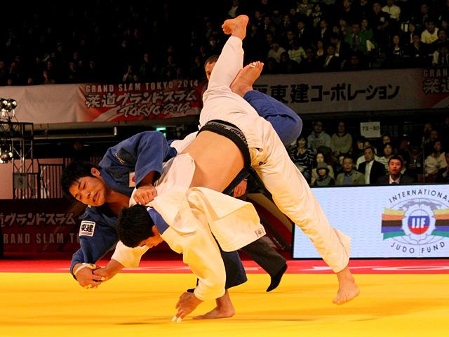 男子90kg級 3位決定戦 Y.KIMvs長澤憲大