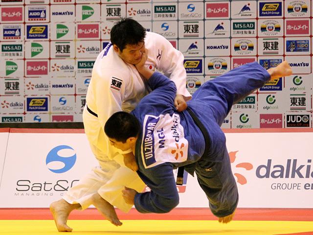 100kg超級 上川大樹 vs D.ULZIIBAYAR