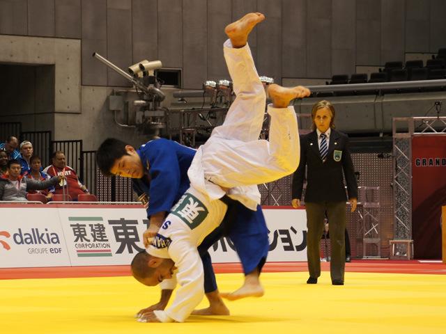 男子60kg級 準々決勝 志々目徹 vs L.CHAMMARTIN