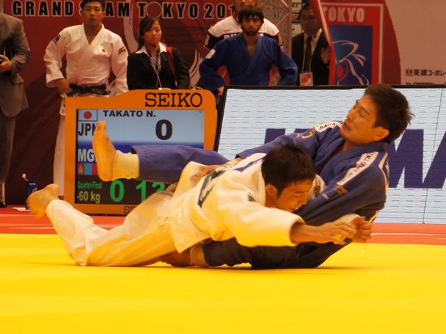 男子60kg級 準々決勝 高藤直寿 vs A.DASHDAVAA�B