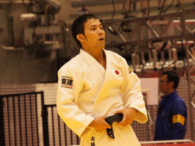 男子60kg級 準々決勝 高藤直寿 vs A.DASHDAVAA�C