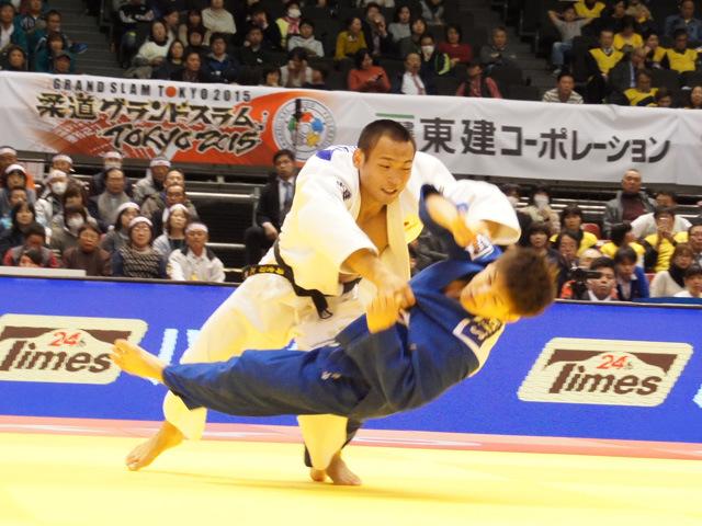 男子66kg級 準決勝戦 海老沼匡 vs 竪山将
