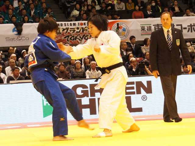 女子52kg級 準決勝 中村美里 vs 西田優香�@