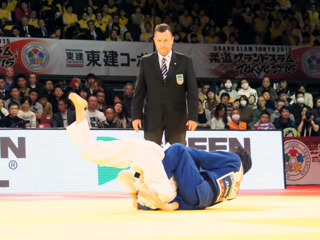 女子52kg級 決勝 中村美里 vs 志々目愛�@