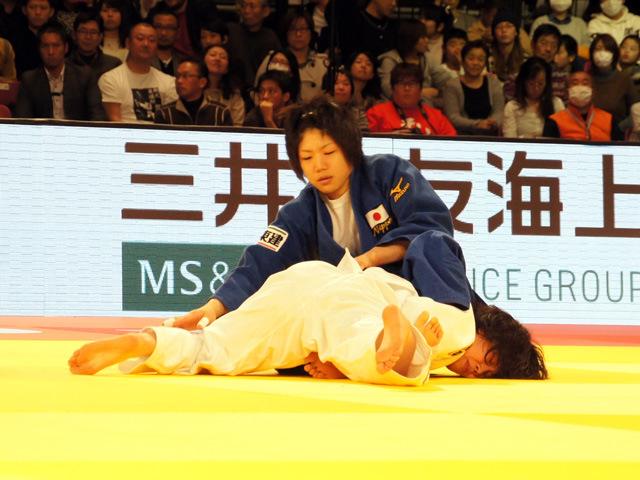 女子52kg級 決勝 中村美里 vs 志々目愛�A