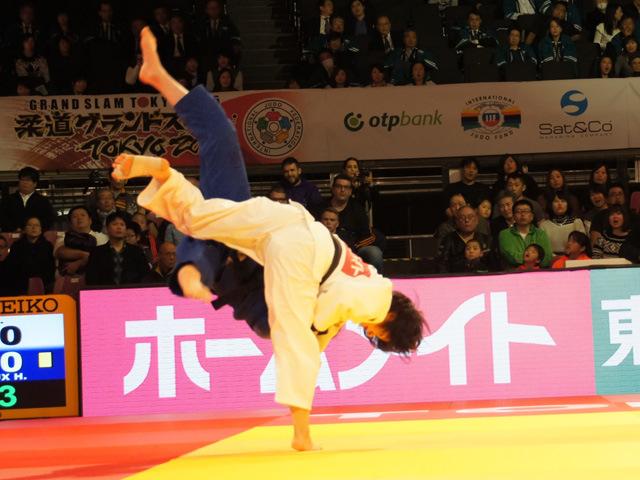 女子57kg級 決勝 芳田司 vs H.RECEVEAUX�A