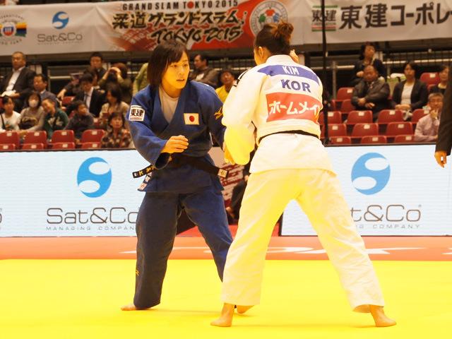 女子63kg級 1回戦 能智亜衣美 vs S.KIM