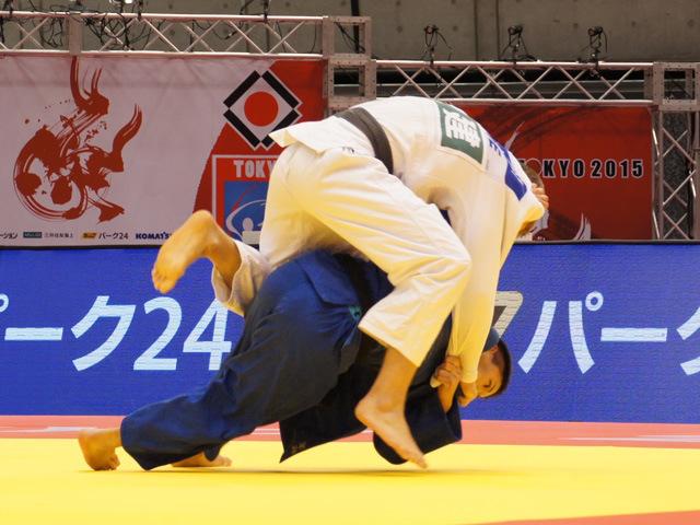 90kg級 ベイカー茉秋 vs J.DVARBY