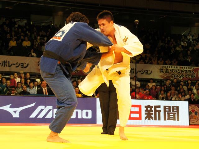 男子90kg級 決勝 ベイカー茉秋 vs A.GONZALEZ