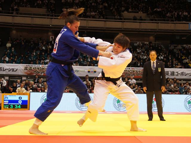 78kg級 佐藤瑠香 vs G.STEENHUIS