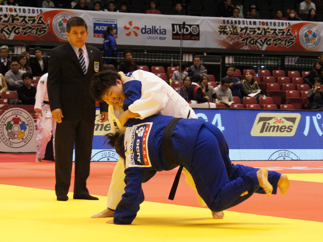 78kg超級 朝比奈沙羅 vs S.ASSELAH