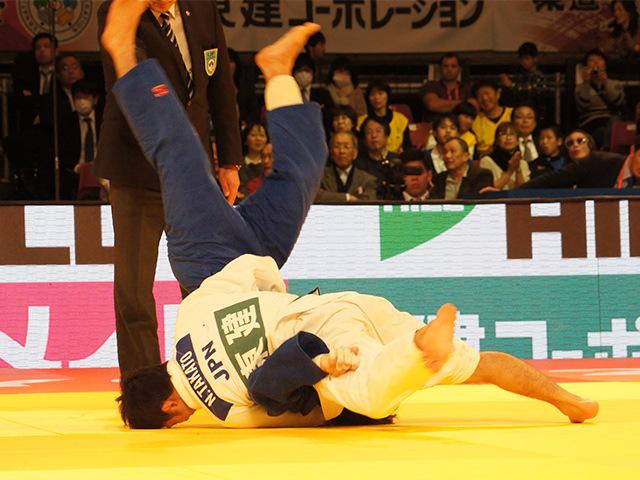 柔道グランドスラム東京2015 男子60kg級 決勝 高藤直寿 vs B.MUDRANOV�@