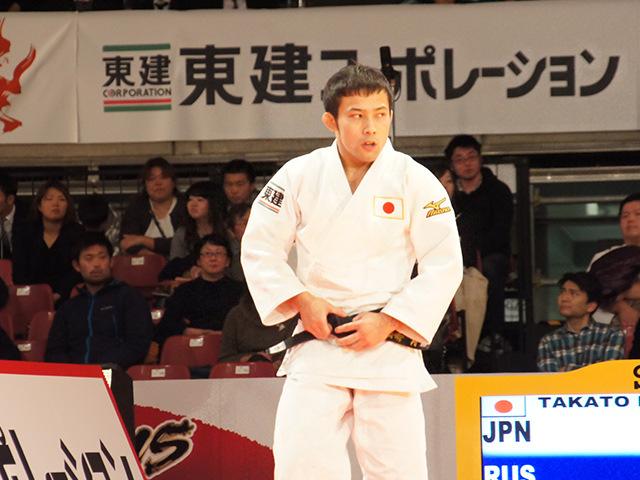 柔道グランドスラム東京2015 男子60kg級 決勝 高藤直寿 vs B.MUDRANOV�A
