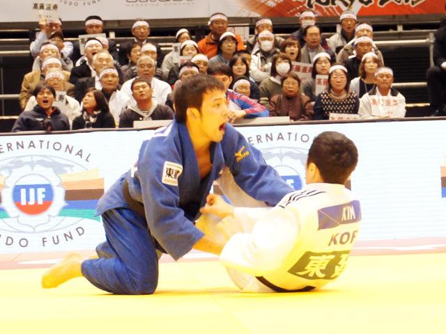 柔道グランドスラム東京2015 男子60kg級 準決勝 高藤直寿 vs W.KIM�A