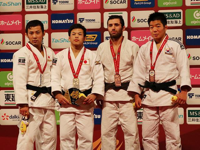 男子60kg級 表彰式