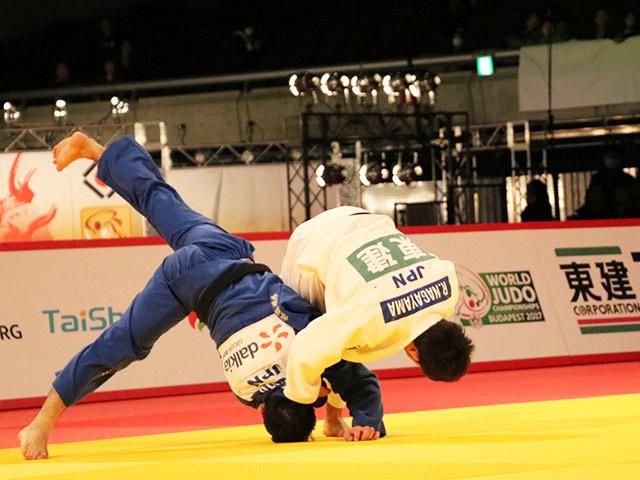 60kg級 高藤直寿 vs 永山竜樹