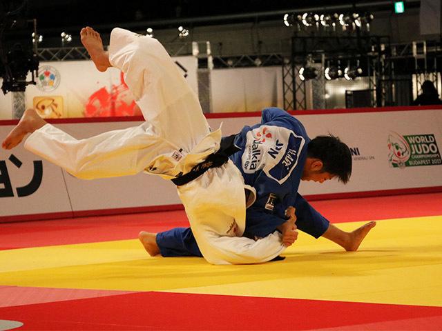 男子66kg級 決勝戦 阿部一二三 vs 橋口祐葵
