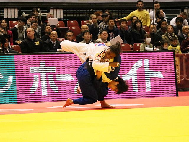 52kg級 阿部詩 vs A.GNETO