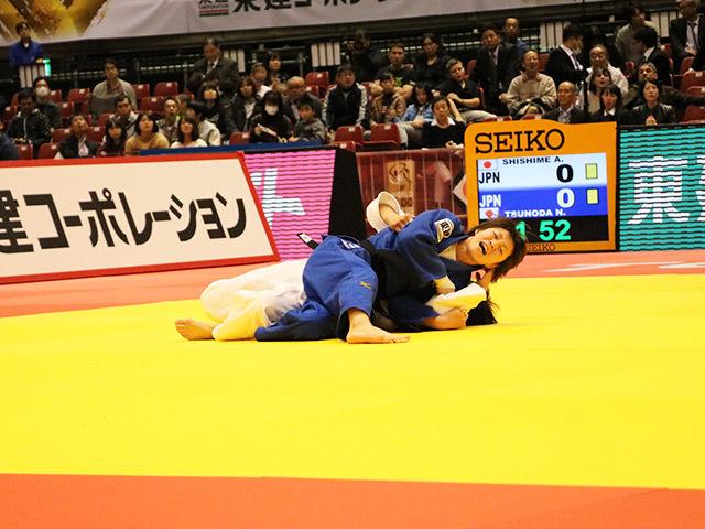 52kg級 角田夏実 vs 志々目愛