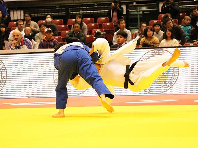 57kg級 宇高菜絵 vs J.ROGIC