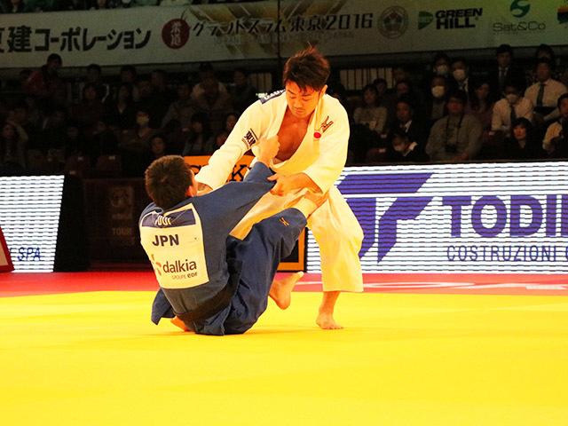 73kg級 橋本壮市 vs 土井健史