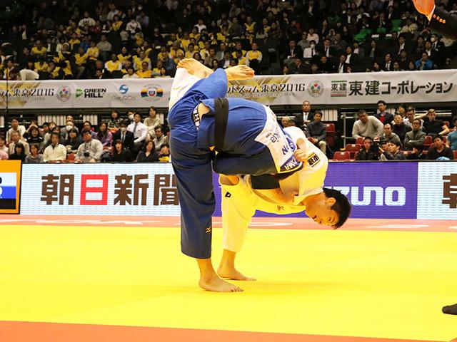 男子81kg級 準決勝戦 永瀬貴規 vs 春山友紀