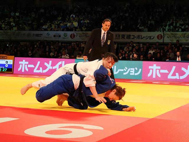 女子63kg級 3位決定戦 能智亜衣美 vs M.PINOT