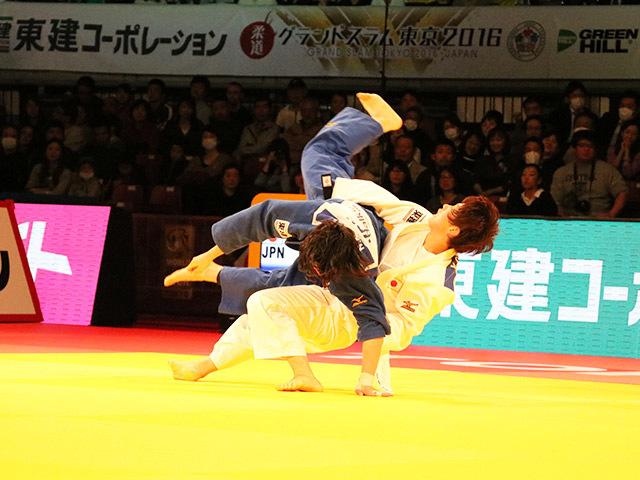 70kg級 前田奈恵子 vs 大野陽子