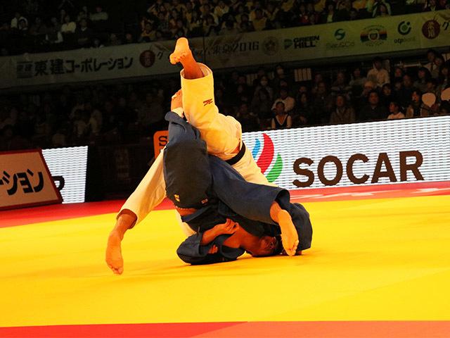 男子90kg級 3位決定戦 長澤憲大 vs 釘丸太一