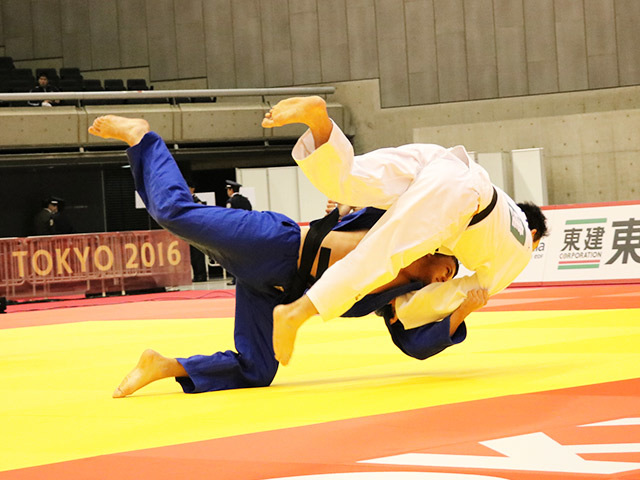 男子100kg級 1回戦 飯田健太郎 vs A.I.CORDOVA