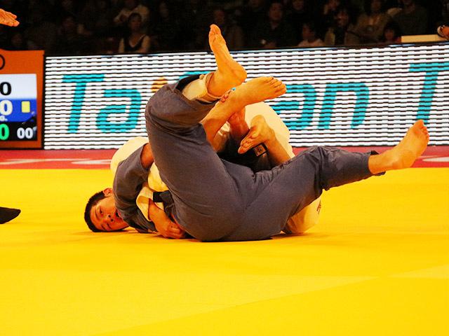 男子100kg級 3位決定戦 飯田健太郎 vs G.MINASKIN