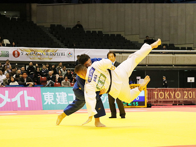 100kg超級 太田彪雅 vs J.SILVA