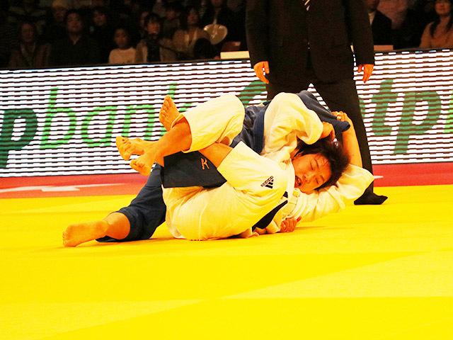 78kg級 佐藤瑠香 vs Y.PARK
