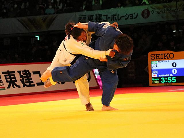 78kg超級 山部佳苗 vs R.NUNES