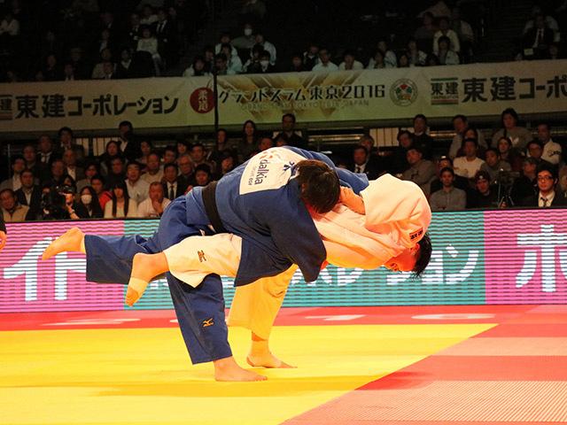 女子78kg超級 決勝戦 朝比奈沙羅 vs 素根輝