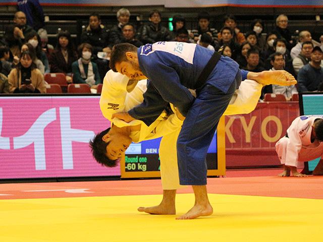 60kg級 志々目徹 vs D.BEN DAVID