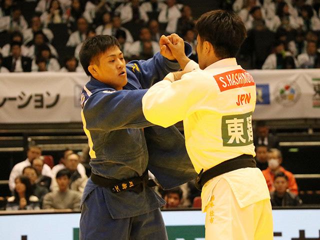 73kg級 橋本壮市 vs 立川新