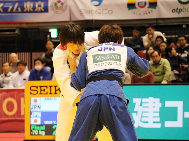 70kg級 大野陽子 vs 新井千鶴