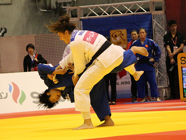 78kg級 G.STEENHUIS vs 和田梨乃子