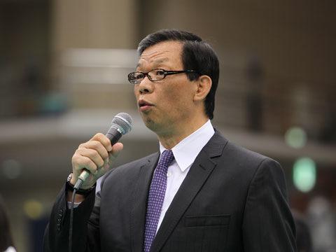 吉村和郎強化委員長の挨拶