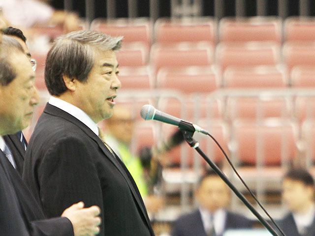 大会名誉会長挨拶 全日本柔道連盟 上村春樹会長