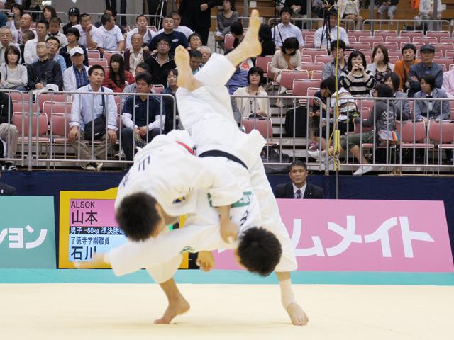 男子60kg級 準決勝 石川裕紀−山本浩史�@
