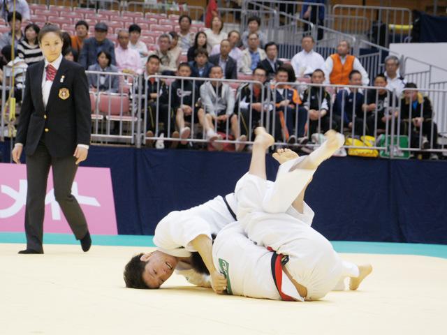 男子60kg級 準決勝 石川裕紀−山本浩史�A